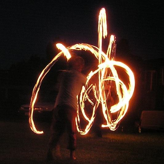 Bat-Fire Dance